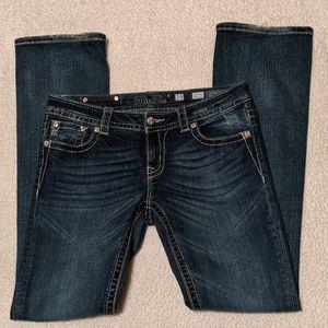 Miss Me Jeans Slim Boot Cut JP7614SB sz 29